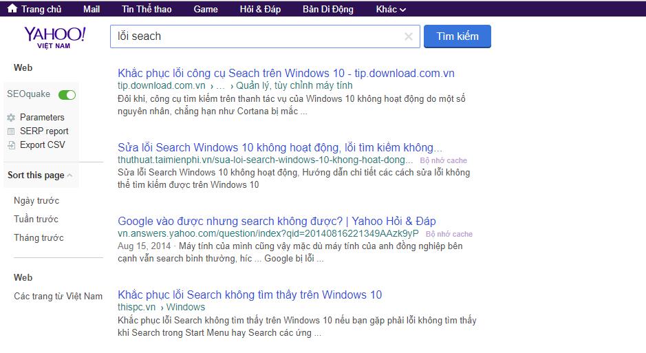 Hướng dẫn cách khắc phục Google Chrome bấm search chuyển sang Yahoo search
