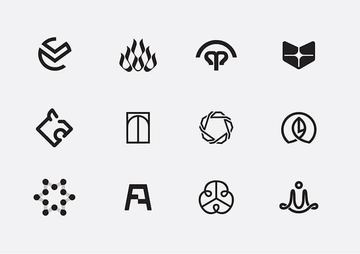Bộ 60 Thiết Kế Logo Thú Vị Đến Từ Bratus Agency