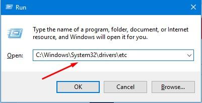 Cách mở, đọc file host trên Windows