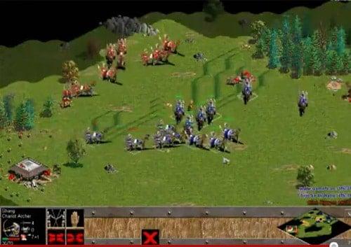 Hình ảnh thực trong game Age of Empires 1