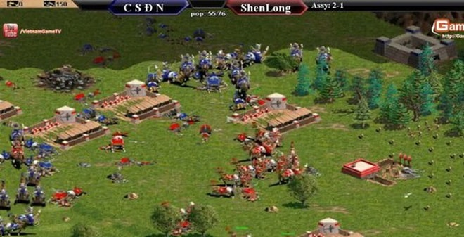Hình ảnh trong game Age of Empires 1