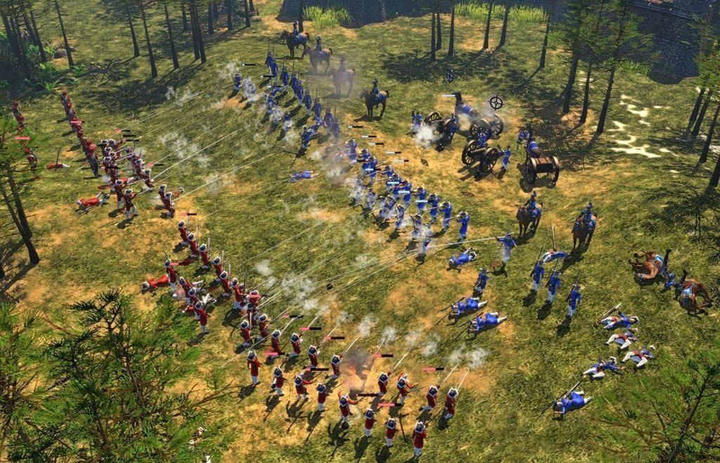 Hình ảnh trong game AOE 3