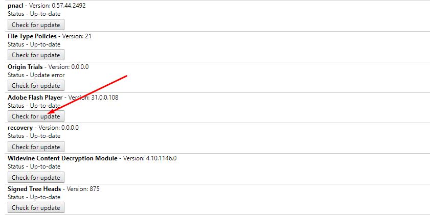 Hướng dẫn sửa lỗi Flash bị chặn do lỗi thời trên Chrome 1
