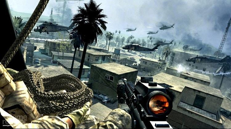 Hình ảnh trong game Call of Duty 4 Modern Warfare