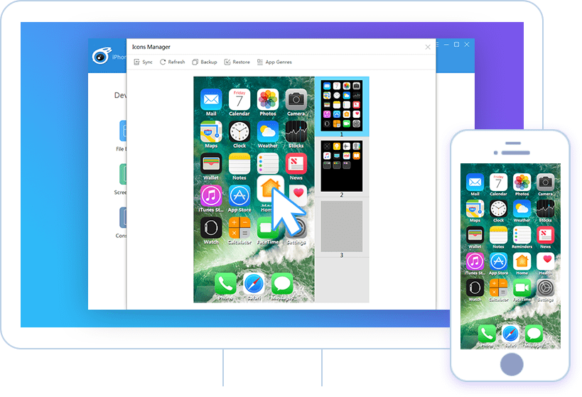 Sắp xếp các biểu tượng ứng dụng trên iPhone
