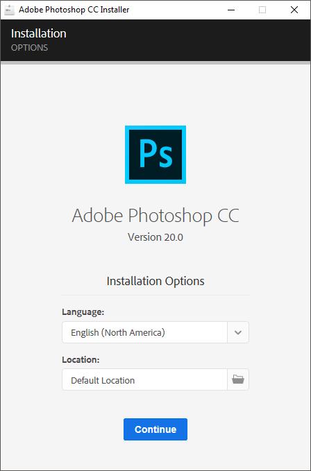 Hướng dẫn cài đặt adobe photoshop cc 2019 2