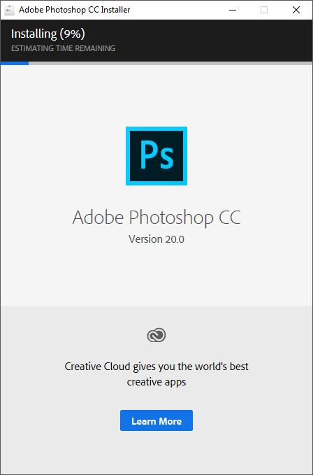 Hướng dẫn cài đặt adobe photoshop cc 2019 1