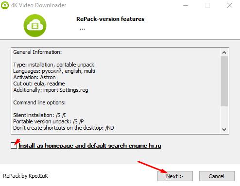 Hướng dẫn cài đặt 4K Video Downloader