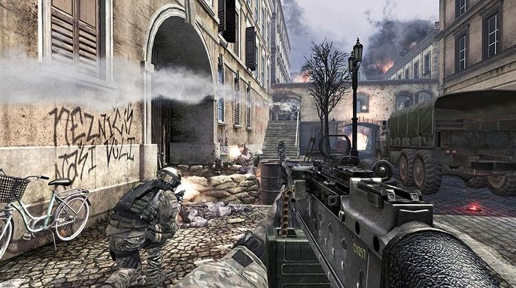 Hình ảnh trong game call of duty 8 modern warfare 3