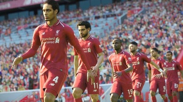 Đội hình Liverpool trong game Pes 2019