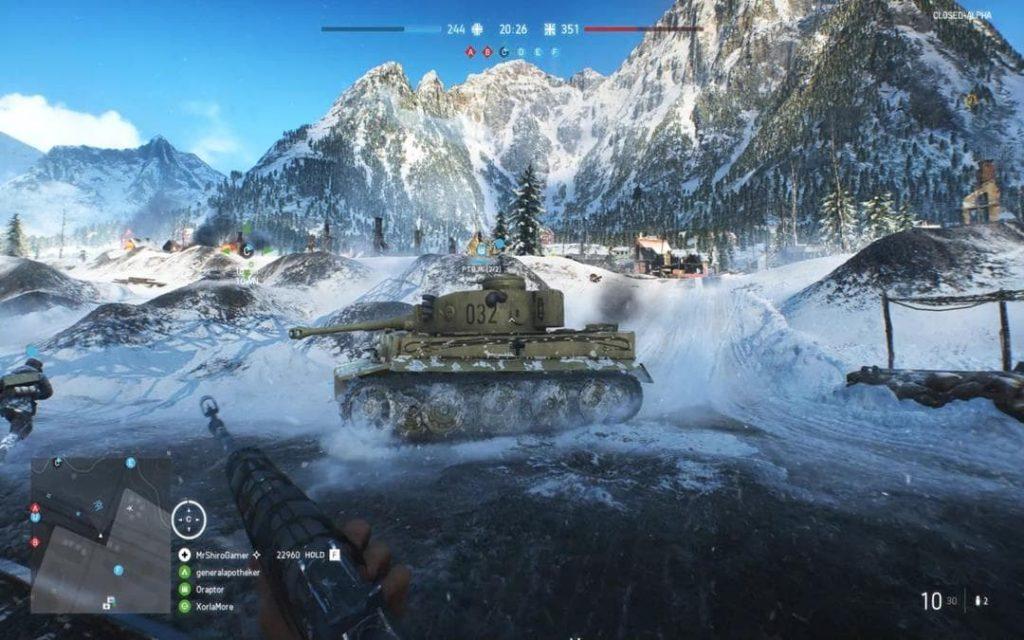 Đồ học cực kỳ đẹp trong game Battlefield 5