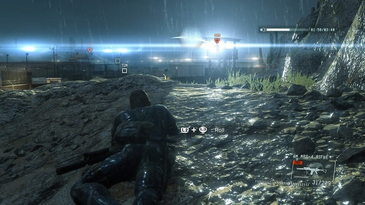 Metal Gear Solid V: Ground Zeroes ban đầu được phát triển như một nhiệm vụ cho The Phantom Pain.