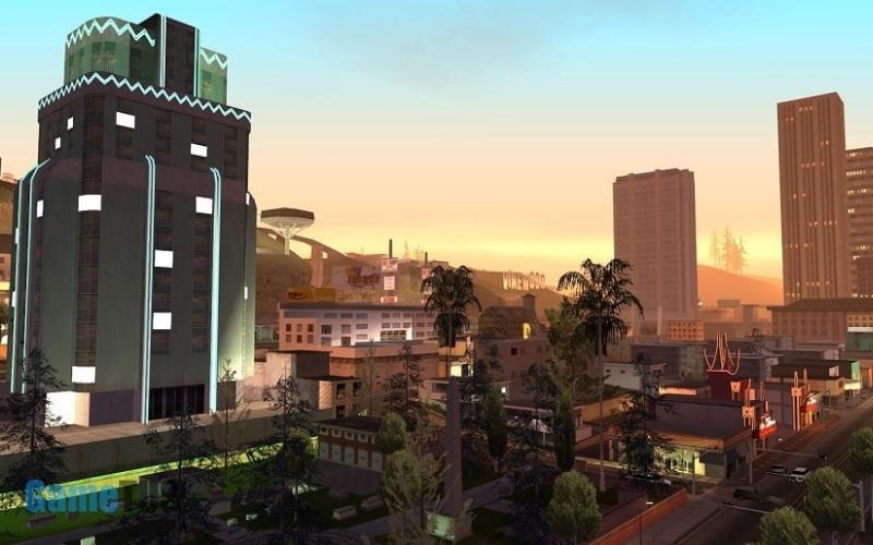 Bối cảnh trong game GTA San Andreas