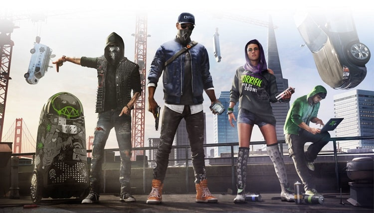 Team Hacker trong game Watch Dogs 2