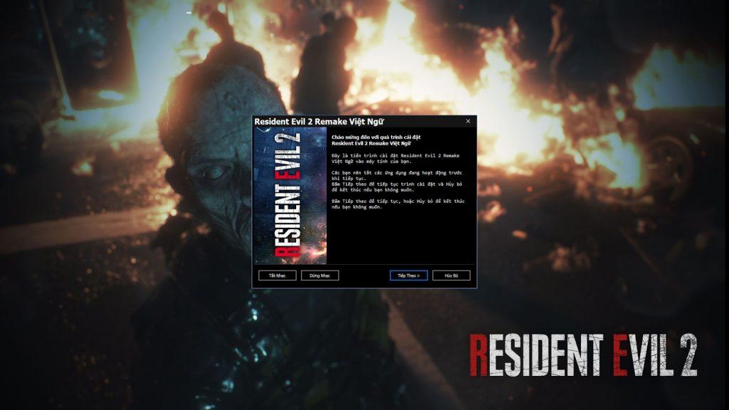 Hướng dẫn cài đặt Resident Evil 2 Remake Patch Việt Hóa