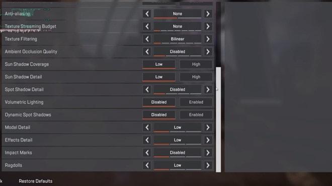 Sửa lỗi đứng màn hình khi chơi game Apex Legends