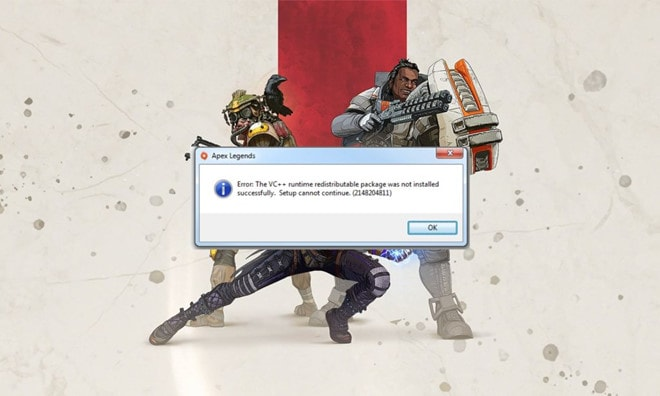 Download đến 38% bị dừng và báo lỗi VC++