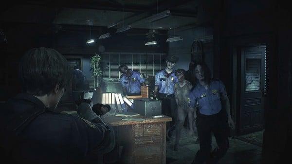 Hình ảnh trong game Resident Evil 2 Remake