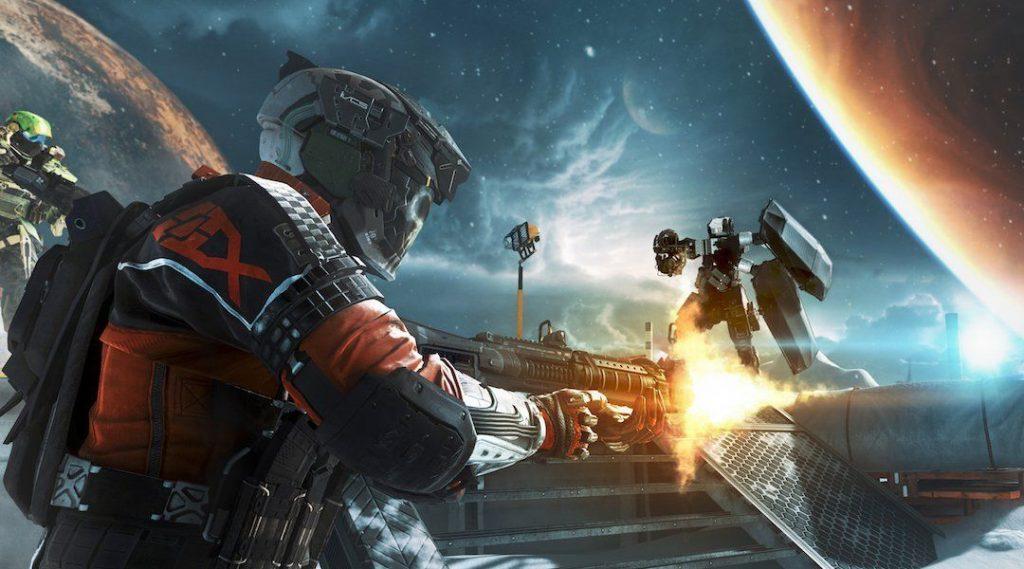 Phần chơi Campaign của Call of Duty Infinite Warfare có bối cảnh vô cùng rộng lớn trong toàn bộ không gian.