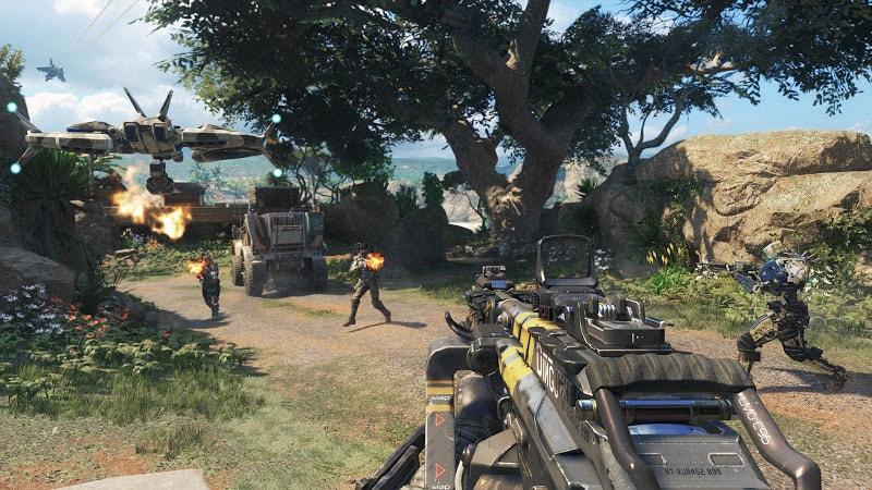 Call of Duty Black Ops 3 sở hữu thêm hai lớp nhân vật mới, ba vũ khí cận chiến được bổ sung