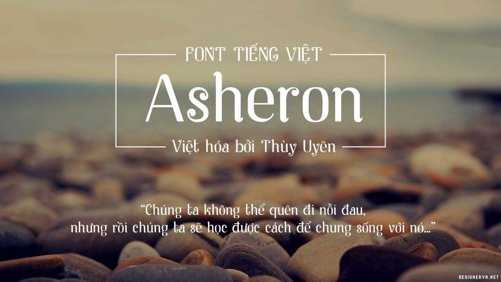 Font TUV Asheron (Việt Hóa)