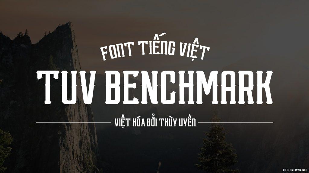 Font TUV Việt Hóa Benchmark