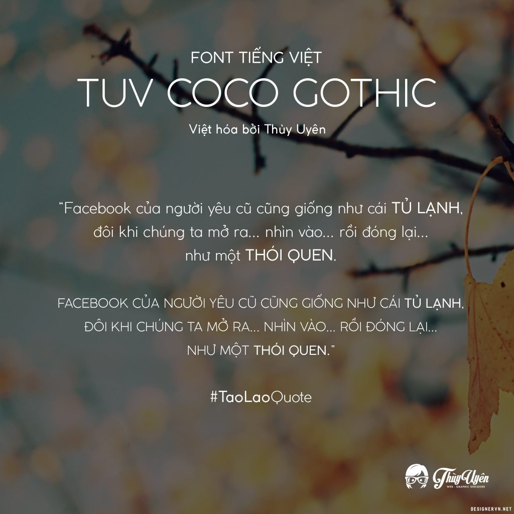 TUV Coco Gothic - Light