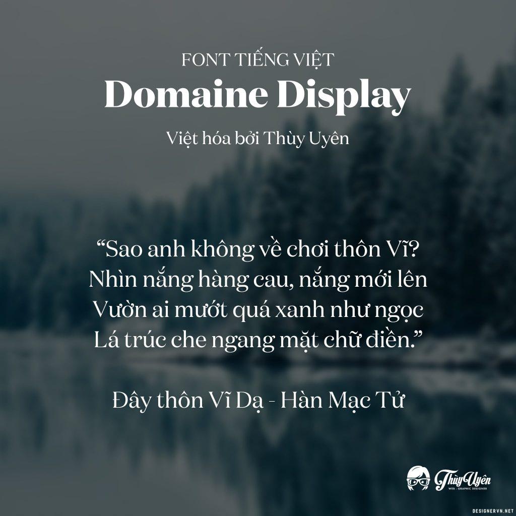 TUV Domaine Regular