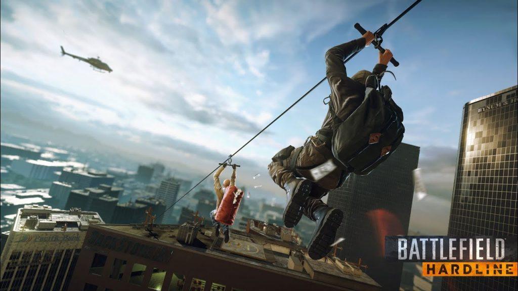 Pha hành động trong game Battlefield Hardline