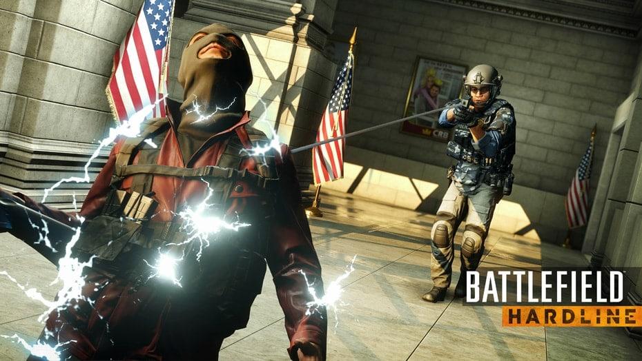 Battlefield Hardline là cuộc đấu tranh của cảnh sát chống tội phạm có tổ chức.