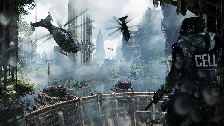 Hình ảnh New York trong Crysis 3