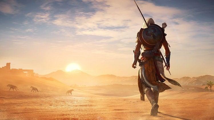 Assassin's Creed Origins là một trò chơi tàng hình phiêu lưu hành động được chơi từ góc nhìn thứ ba.
