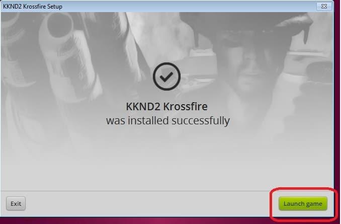 Cài xong thì bạn có thể chơi kknd2 krossfire