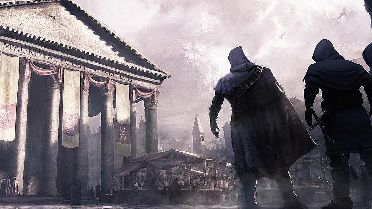 Bối cảnh trong game Assassin's Creed Brotherhood tập trung chủ yếu tại Rome
