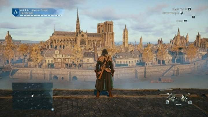 Thành phố trong game Assassin's Creed Unity