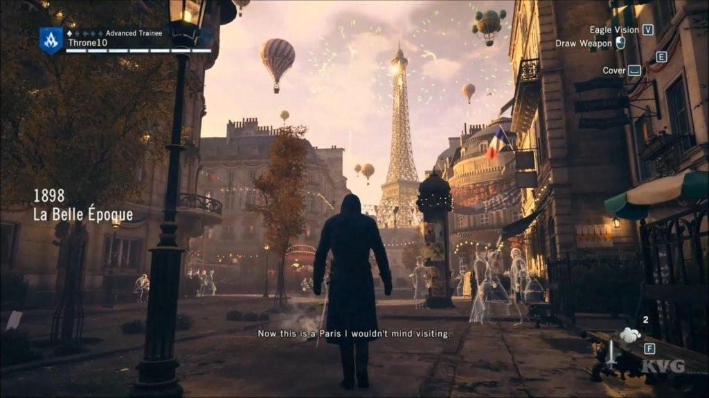 Assassin's Creed Unity lấy bối cảnh ở Paris thế kỷ 18
