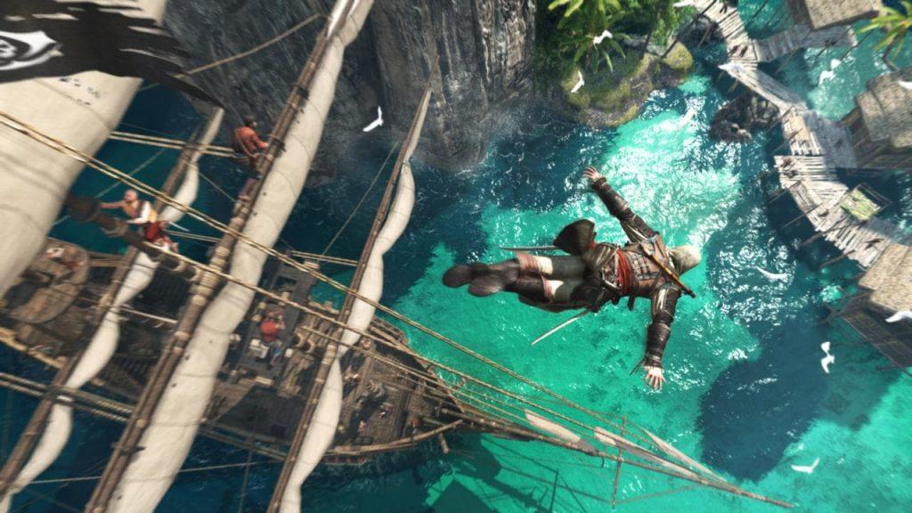 Assassin's Creed IV Black Flag được đánh giá về đồ họa rất cao