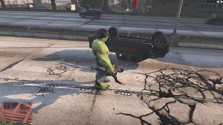 Bản mod gta 5 Người khổng lồ Hulk