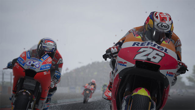 Trong MotoGP 18 bạn sẽ trở thành 1 tay đua chuyên nghiệp