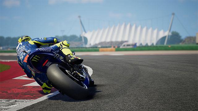 MotoGP 18 có đồ họa rất đẹp