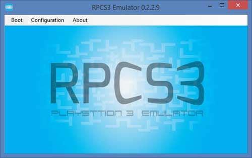 Nền tảng giả lập RPCS 3