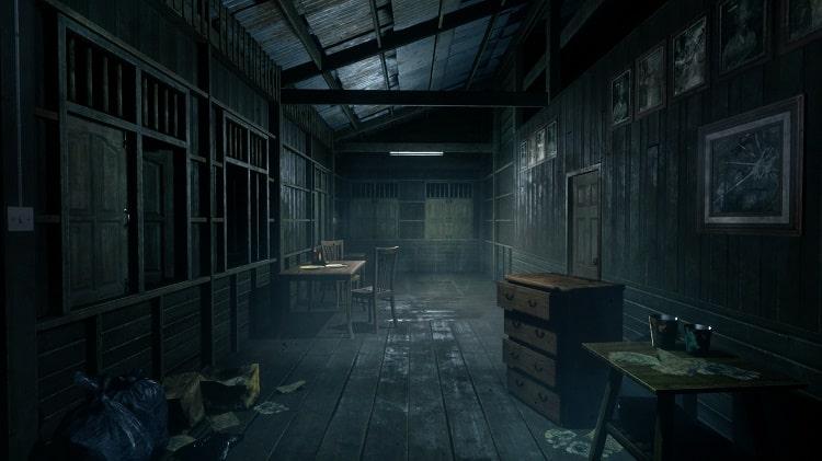 Quang cảnh u ám trong game