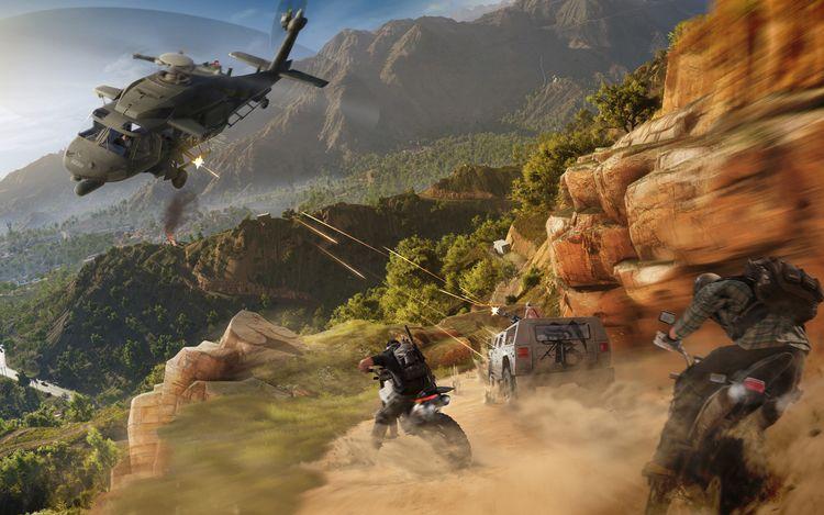 Thực hiện các nhiệm vụ trong game Tom Clancy's Ghost Recon Wildlands