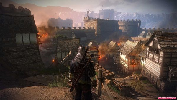 Khung cảnh trong game the witcher 2