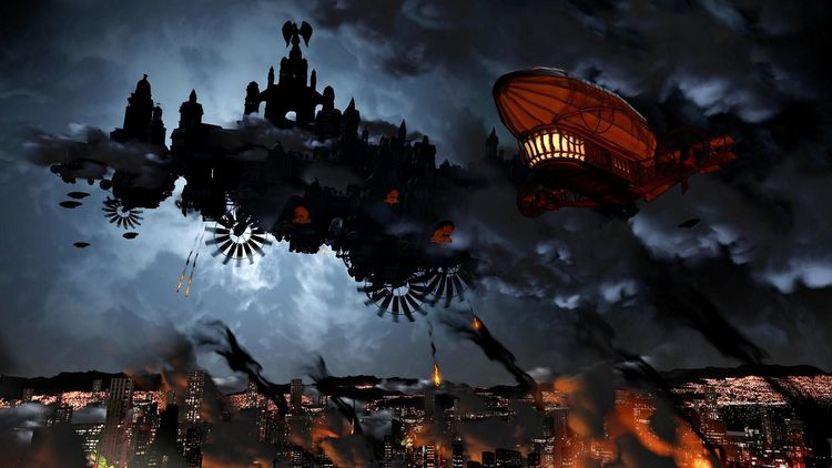 Đồ họa đẹp mắt trong game Bioshock Infinite