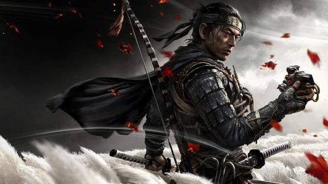 Nhân vật chính trong game Ghost of Tsushima là Jin Sakai