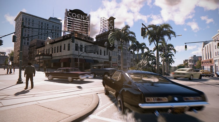 Những màn rượt đuổi trong game Mafia III