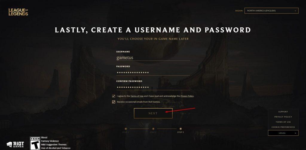 Tạo tài khoản riot games dễ dàng