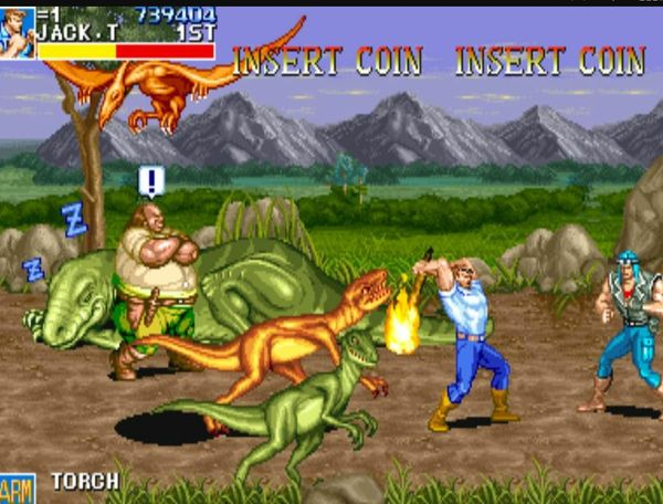 game Cadillacs and Dinosaurs 2